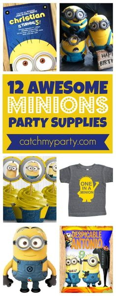 Minions Party Supplies   CatchMyparty.com