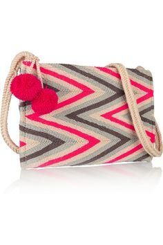 SOPHIE ANDERSON Chiquita crocheted cotton shoulder bag €213.50