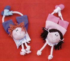 make handmade - handmade - handicraft: Making toys Sewing Toys, Sewing Crafts, Hobbies And Crafts, Diy And Crafts, Craft Projects, Sewing Projects, Craft Ideas, Soft Dolls, Fabric Dolls