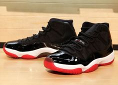 Air Jordan XI Black/Red   Detailed Images #SHOEOFTHEYEAR