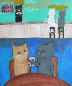 cat wine bar by  pepe shimada