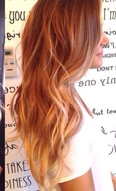 When my hair gets long in so doing this