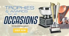 Custom trophies, plaques, and awards from TrophyCentral