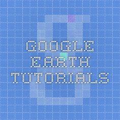 Google Earth tutorials
