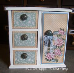 Graphic 45 Ladies Diary Jewelry Box