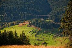 Nad Chmarošským viaduktom