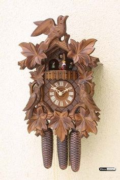 Cuckoo Clock 8-day-movement Carved-Style 40cm by Rombach & Haas - 4430