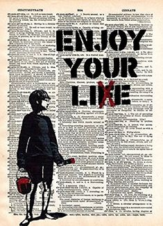 Banksy, Cool Wall Decor, Dictionary Words, Enjoy Your Life, You Lied, Mural Art, Free Prints, Street Artists, Cool Walls