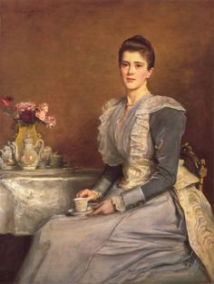 """Mary Chamberlin"" (1891) by Sir John Everett Millais (1829-1896)."