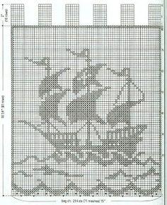 Segelschiff maritim häkeln - crochet marine - nautic