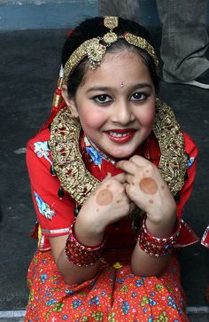 girl in traditional Nepali dress #portraits #tailoredforeducation