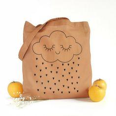 Image of Tote bag tenderness - Caramel