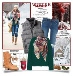 """""""Winter Magic"""" by annabu ❤ liked on Polyvore featuring Current/Elliott, Marni, Nature Breeze, Lord & Taylor and Kate Spade"""