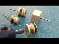 DIY: Dremel Leather Burnisher ( cheap & easy ) - YouTube