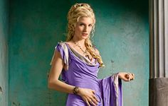 Ilithyia (Starz's Spartacus:Blood and Sand) played by Viva Bianca