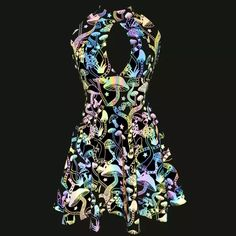 US$ 85.00 - Custom Plus Size Rainbow Reflective Mushroom Open Bust Skater Dress,Reflective Clothing,Circle Dress,Festival Dress,Sexy Skater Dress,Party Dress - www.pindarave.com Party Dresses For Women, Sexy Dresses, Rave Costumes, Burning Man Outfits, Circle Dress, Butterfly Dress, Festival Dress, Rave Wear, Rave Outfits