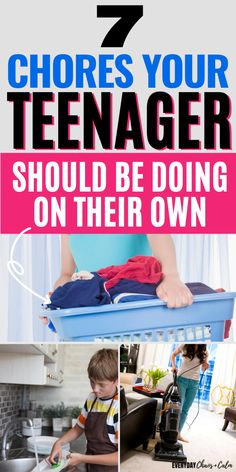 Chore Charts For Teenagers, Teen Chore Chart, Chores For Kids By Age, Raising Teenagers, Chore Schedule, Chore List, Parenting Ideas, Kids And Parenting, Teenage Chores