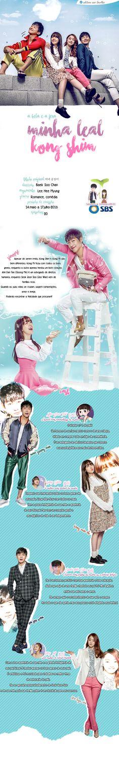 A Bela e a Fera [Minha Leal Kong Shim] - 미녀 공심이 - Assista episódios inteiros de graça Coreia – Programas de TV - Viki