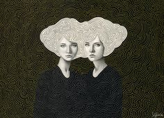 Sofia Bonati is a self-taught artist from Argentina, currently living in the UK. With a wide array of interest, from painting through design to illustration, it is the latter that constitutes a big part of her interesting portfolio. 'A-maze-ing Girls' is a portrait series that seems to reflect the complicated nature of a female. On …