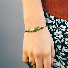 Stay Golden Bangle Bracelet/ www.nectarclothing.com