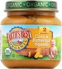 Earth's Best Organic Corn And Butternut Squash Baby Food - Stage 2 - Case Of 12 - 4 Oz. Organic : Yes Kosher : Yes Size : 4 OZ Pack of : 12 Product Selling Unit : case Best Organic Baby Food, Butternut Squash Baby Food, Banana Baby Food, Earth's Best, Baby Food Recipes, Baby Items, Stage, Babies, Products