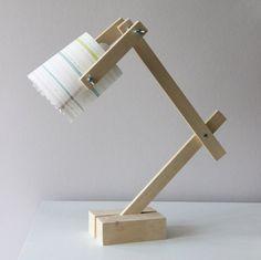 Une lampe de bureau récup'