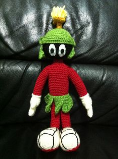 Ravelry: Marvin the Martian Amigurumi Pattern pattern by Edward Yong