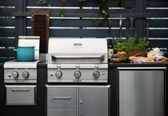 SABER Infrared Grill Outdoor Kitchen units https://www.sabergrills.com/Products/outdoor-kitchens.aspx