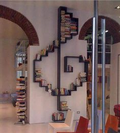 very cool bookcase!  I would love to use this for my records :)