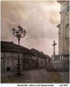 https://flic.kr/p/NQYTfZ | Neustrelitz - Blick in die Sassenstraße 1930