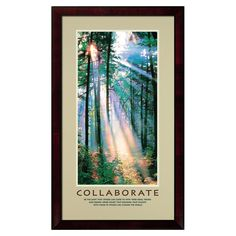 """Collaborate ~ """"Be the light that others can come to with their ideas, visions and dreams. Never doubt that blending your talents with those of others can change the world."""" ~ Successories.com"""