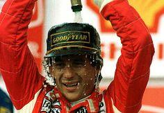 Banho de champanhe na vitória