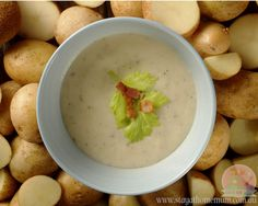 Bacon and Potato Soup is another winter warmer, a thick hearty soup to warm your belly on a cold night. You can also make a huge batch and freeze it!