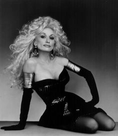 I heart Dolly.  I have always really liked her.  I think she looks so pretty-especially for her age.  love her honesty too.