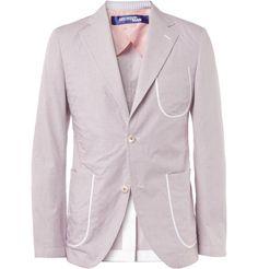 Junya Watanabe Slim-Fit Unstructured Cotton Blazer+|+MR PORTER