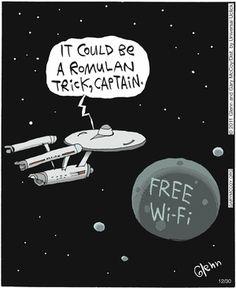 """It could be a Romulan trick, captain."""