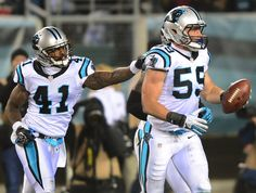 Luke Kuechly and Captain Munnerlyn, Some of my two favorite people to watch!!