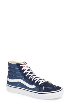 7e12cf56c57 VANS  Sk8-Hi Slim  Sneaker (Women).  vans  shoes