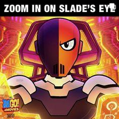 Slade Teen Titans, Teen Titans Go, Deathstroke, Comebacks, Iron Man, Dc Comics, Daddy, Things To Come, Superhero