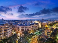Barcelona, Spain...I want to go there.