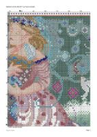 "Gallery.ru / cnekane - Альбом ""Dama 8"" Fairy, Rugs, Cross Stitch, Gallery, Home Decor, Dots, Crossstitch, Homemade Home Decor, Roof Rack"