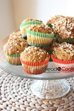 Carrot & Coconut Whole Wheat Muffins {and there's Chobani in there too}