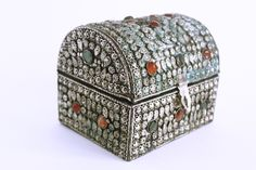 Handmade Jewelry Box/Chest  for sale at Himalayan Wang Shoppe