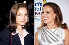 Celebridades: antes y ahora