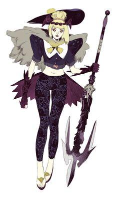竜騎士Dragoon Knight (you can watch the work in progress ofthis drawing on my Behance profile)