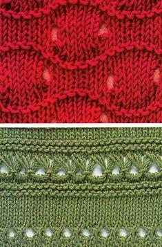 Как вязать фантазийный узор Knitting Stiches, Crochet Stitches Patterns, Knitting Charts, Lace Knitting, Stitch Patterns, Knit Crochet, Knitting Patterns, Knit Stitches, Pattern Library