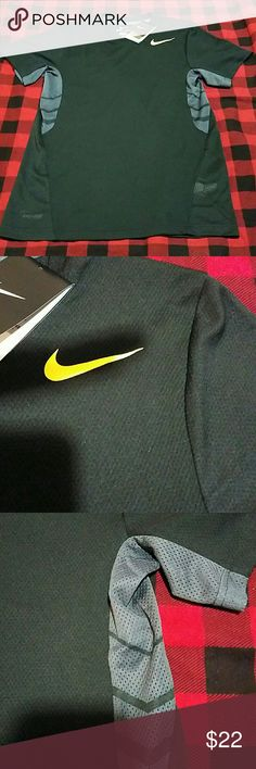 Nike tshirt New with tags  Nike  Dri-fit  Cooling mesh  Neon yellow front chest logo Nike Shirts Tees - Short Sleeve