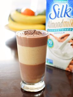 Healthy Chocolate Almond Butter Cup Shake Recipe