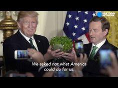 Primer ministro de Irlanda defiende a los mexicanos y humilla a Donald Trump - YouTube