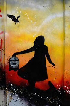 Vitry-sur-Seine - place Jean Martin - street art -  lilywenn